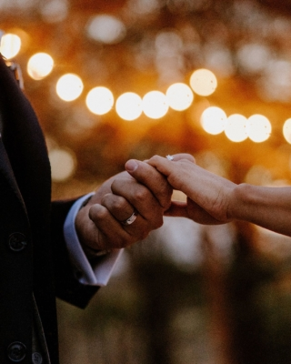There is something about hands and photography for me. Especially when a couple holds hands. It seems to me like a whole story is told just in that small detail. . . . . . #weddingphotography #weddinglights #weddinginspiration #weddingseason #weddingphotos #creativewedding #brideandgroom #groom #realwedding #weddingdetails #weddingring #engagementring #sheisgettingmarried #weddinglights #outdoorlights #weddingnight #shesaidyes #gettingmarried #holdinghands #holdmyhand #hands #weddingstoryteller